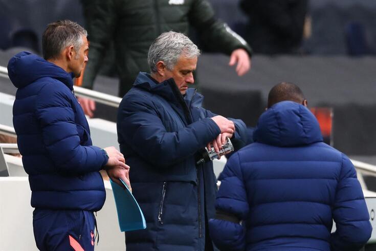 Tottenham de Mourinho é atualmente sétimo na Premier League