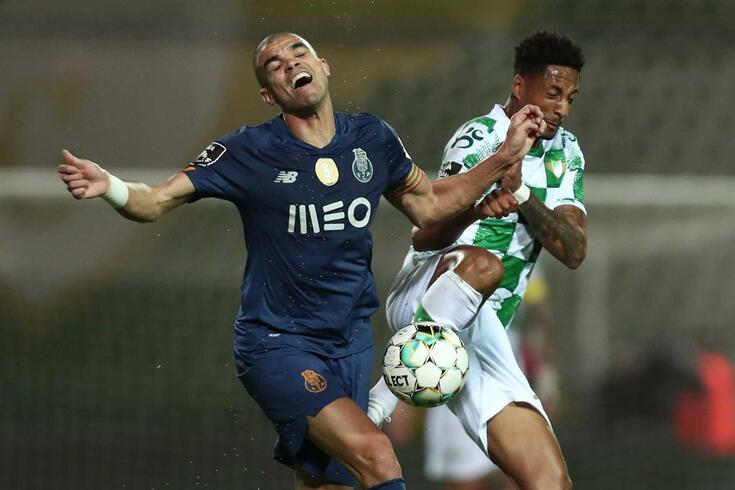 Pepe vai falhar o próximo jogo do FC Porto