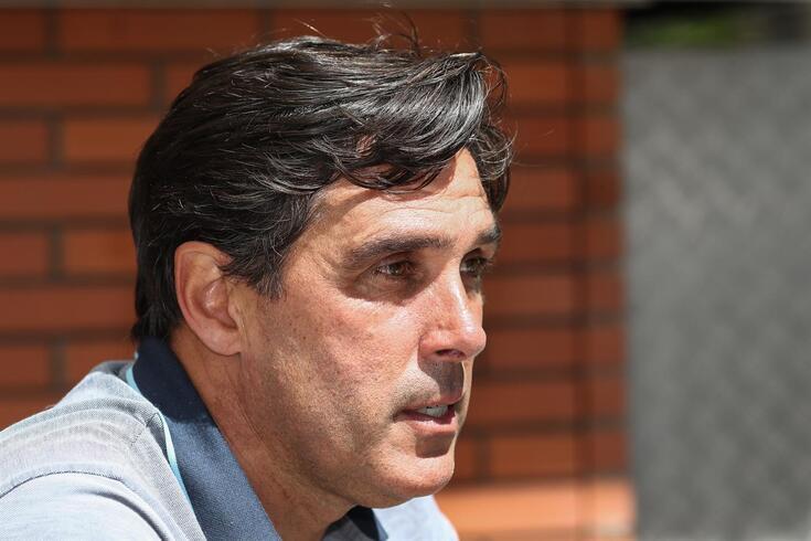 Daniel Ramos, treinador do Santa Clara
