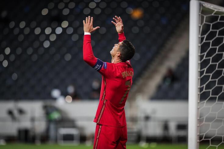 Cristiano Ronaldo está infetado com covid-19
