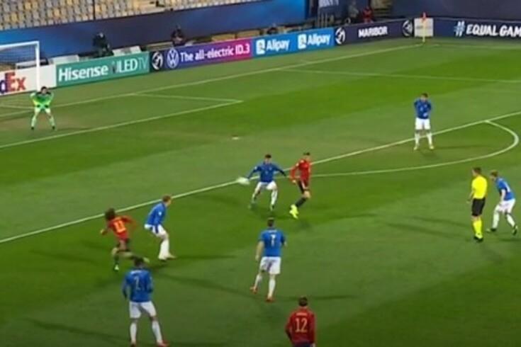 """O pormenor de Abel Ruiz no Europeu de sub-21 destacado pela UEFA: """"Toque de classe"""""""