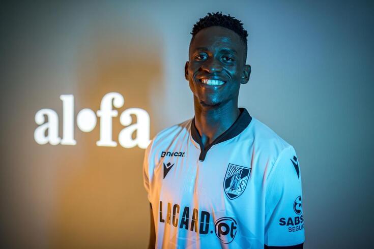 Alfa Semedo transferiu-se para o V. Guimarães