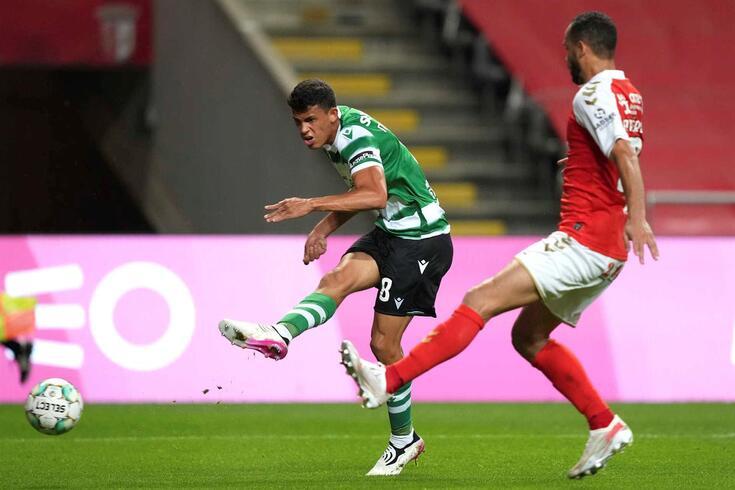 Matheus Nunes, médio do Sporting, tem interessados em Inglaterra