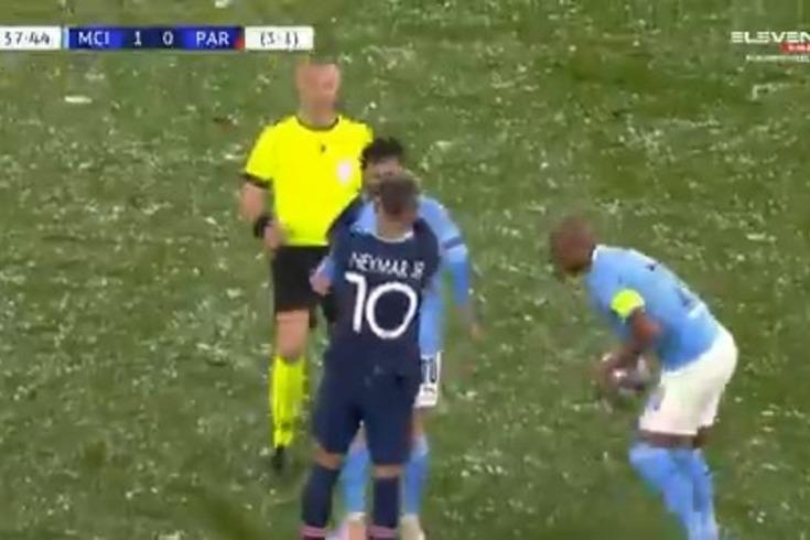 O desentendimento entre Bernardo Silva e Neymar. Veja o vídeo
