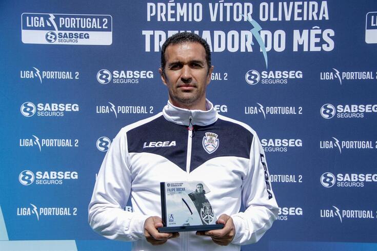 """Filipe Rocha não guarda os louros: """"É um prémio do grupo todo"""""""