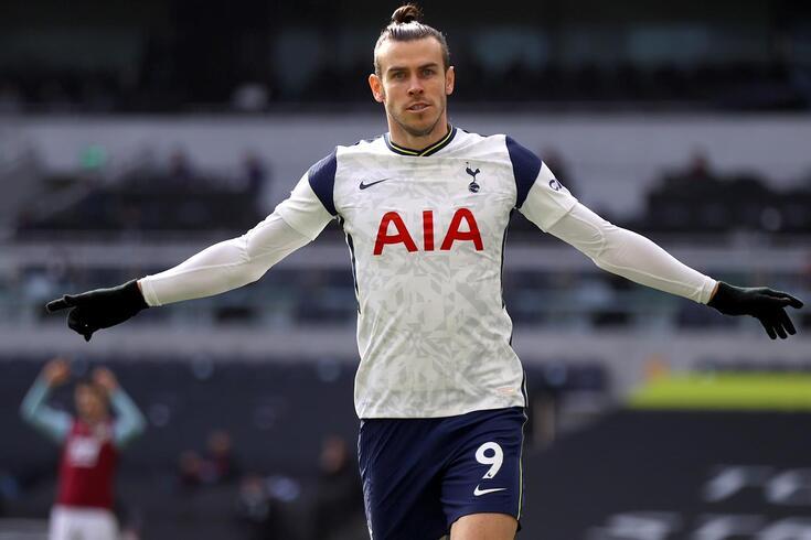 Gareth Bale mostrou estar em grande forma