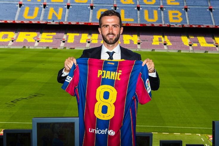 Pjanic é reforço do Barcelona