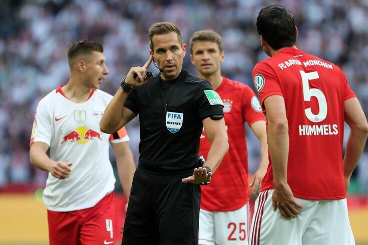 Tobias Stieler, árbitro alemão de 38 anos