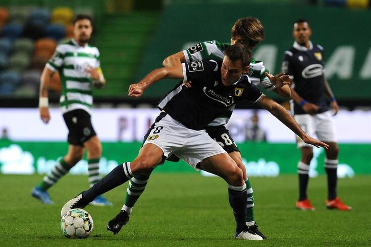Ugarte troca o Famalicão pelo Sporting