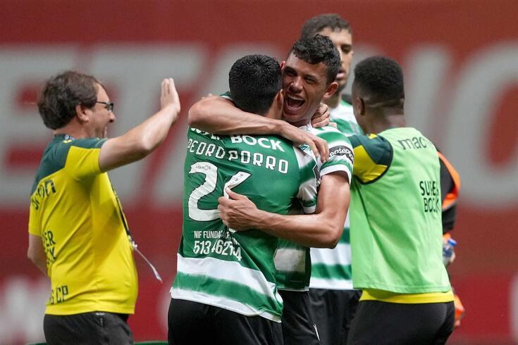 Matheus Nunes deu a vitória ao Sporting em Braga