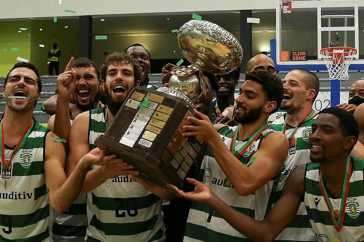 Sporting conquistou a Taçade Portugal em 2019/20