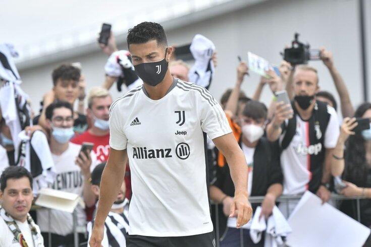 Cristiano Ronaldo regressa a Turim