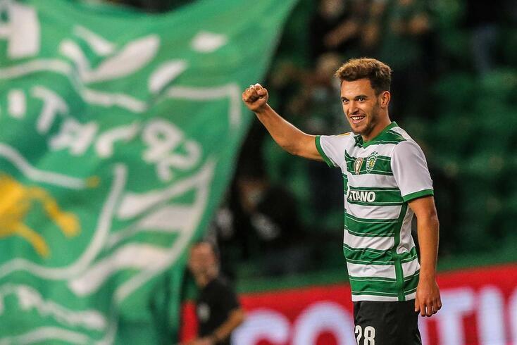 Pote, avançado português do Sporting