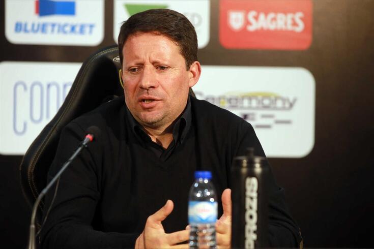 Paulo Sérgio, novo treinador do Portimonense