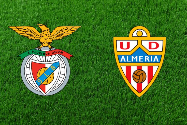 DIRETO | Jogo particular: Benfica-Almería