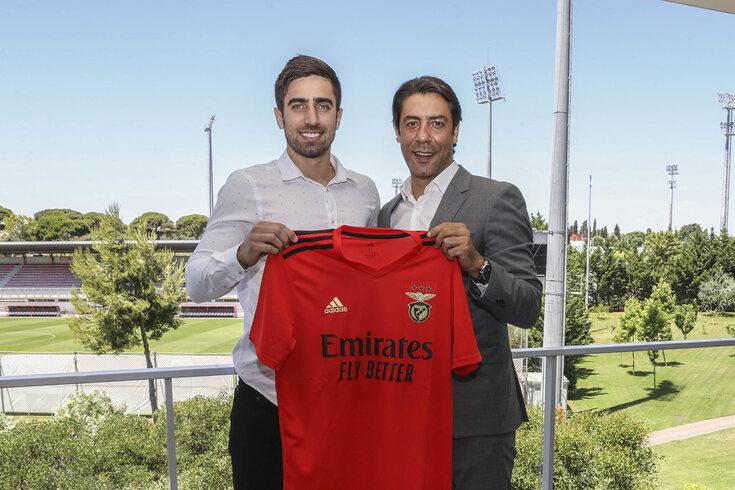 Rodrigo Pinho reforça o ataque do Benfica