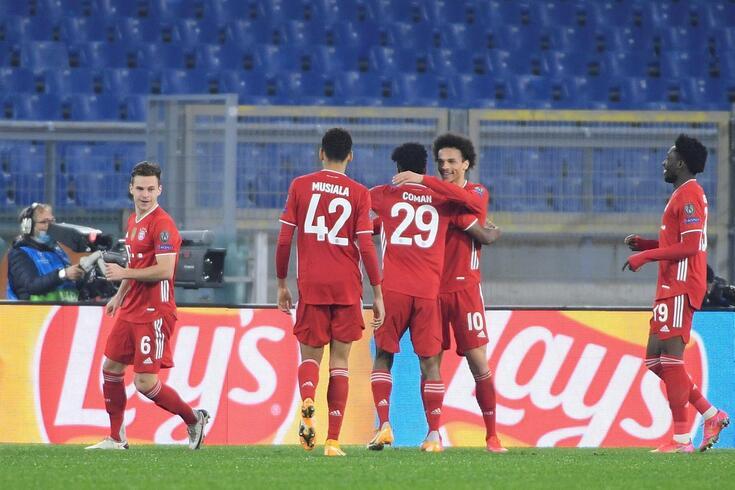 Bayern não deu hipóteses à Lázio