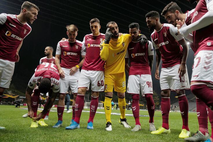Braga leva três vitórias e um empate na fase de grupos da Liga Europa