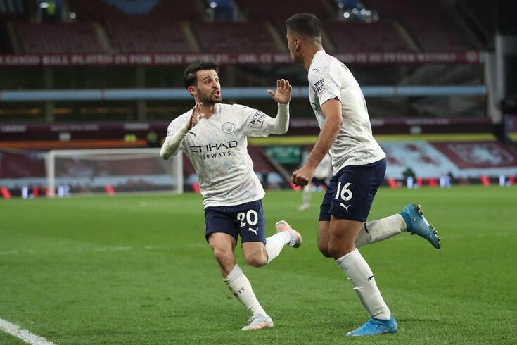 Bernardo Silva fez duas assistências na reviravolta do Manchester City