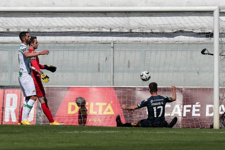 Mario González marcou três golos em Moreira de Cónegos