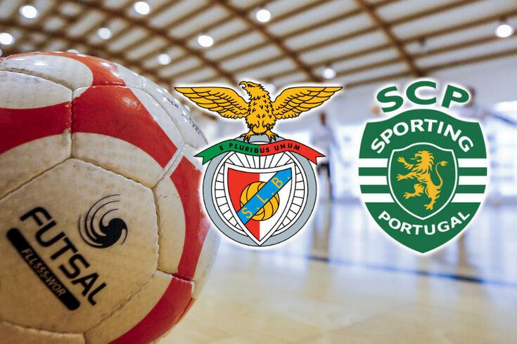Sporting vence Benfica na Luz e sagra-se campeão nacional de futsal. Recorde o jogo