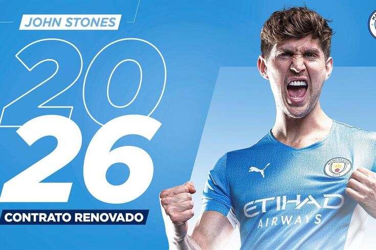 John Stones, defesa do Manchester City