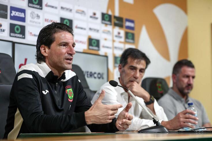 Jorge Simão, treinador do Paços de Ferreira