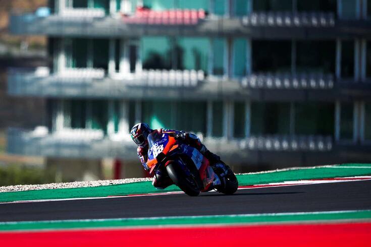 Miguel Oliveira, piloto português do MotoGP