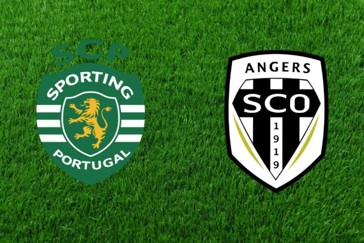 DIRETO | Jogo particular: Sporting-Angers