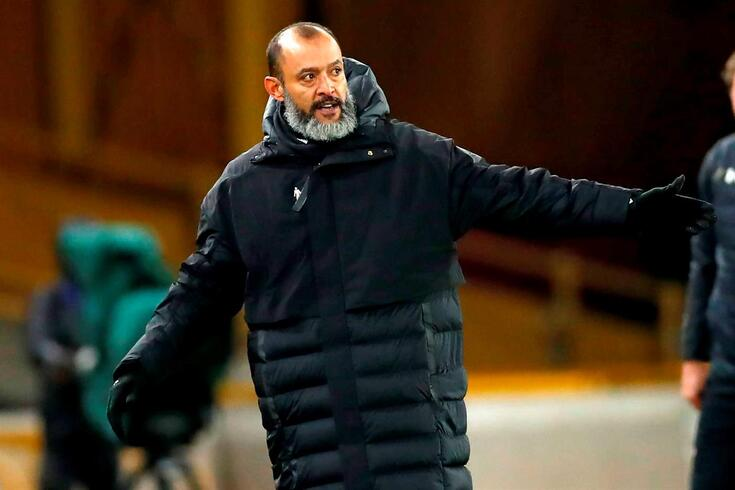 Nuno Espírito Santo, treinador do Wolverhampton