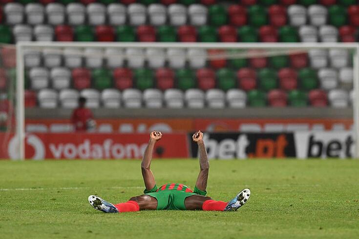 Marítimo venceu o Braga com um golo de Joel Tagueu
