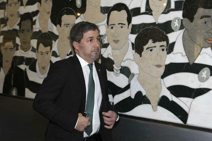"""""""Queríamos a vitória para dedicar ao presidente Bruno de Carvalho"""""""