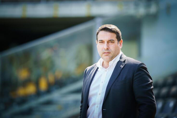 Guimarães, 25/03/2021 - Entrevista a Miguel Pinto Lisboa, Presidente do Vitoria Sport Club.  (Gonçalo