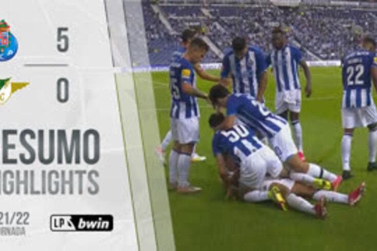Golos, casos e outros lances. Assista ao resumo do FC Porto-Moreirense