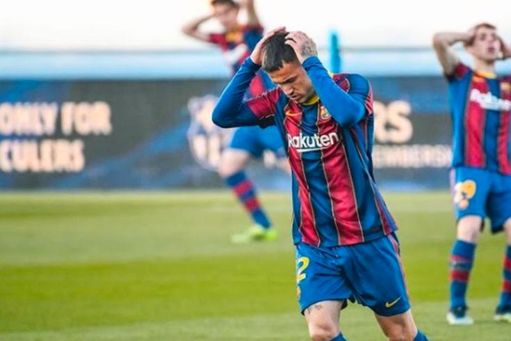 Rey Manaj, avançado do Barcelona B