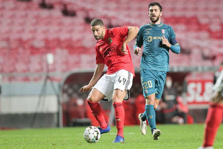 Adel Taarabt, médio do Benfica