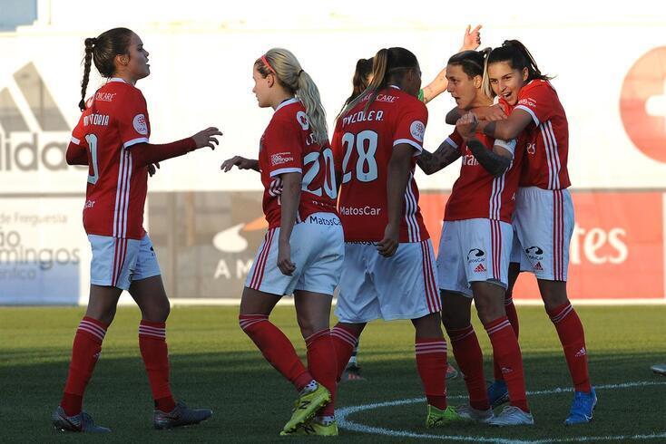 Benfica vai defrontar o Lyon na Champions League feminina