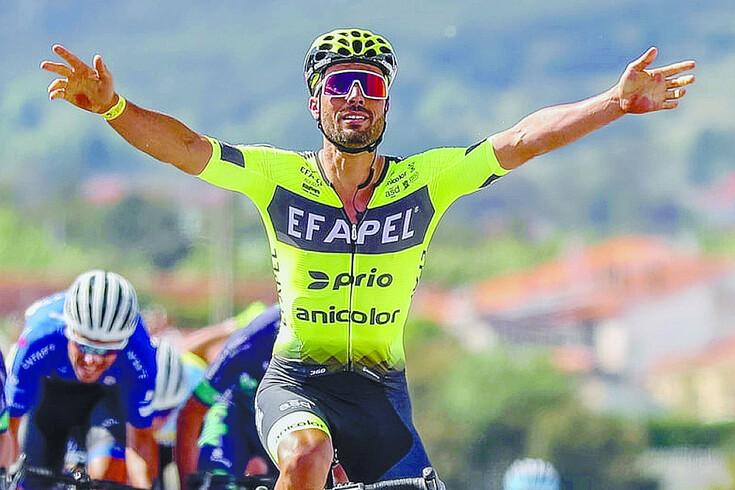 Luís Mendonça, ciclista da Efapel