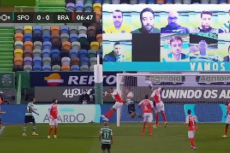 Tribunal O JOGO: há penálti por falta de Rolando sobre Feddal no Sporting-Braga?