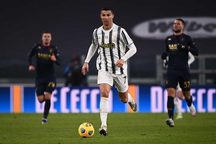 Cristiano Ronaldo, estrela da Juventus