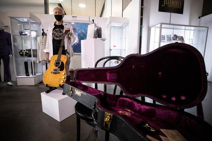 Nunca uma guitarra tinha valido tantos milhões