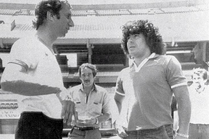 Maradona: família de Bilardo simula avaria na TV para evitar que ele saiba da morte