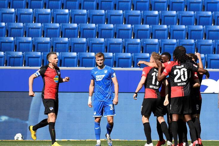 Polémica no jogo do Hertha