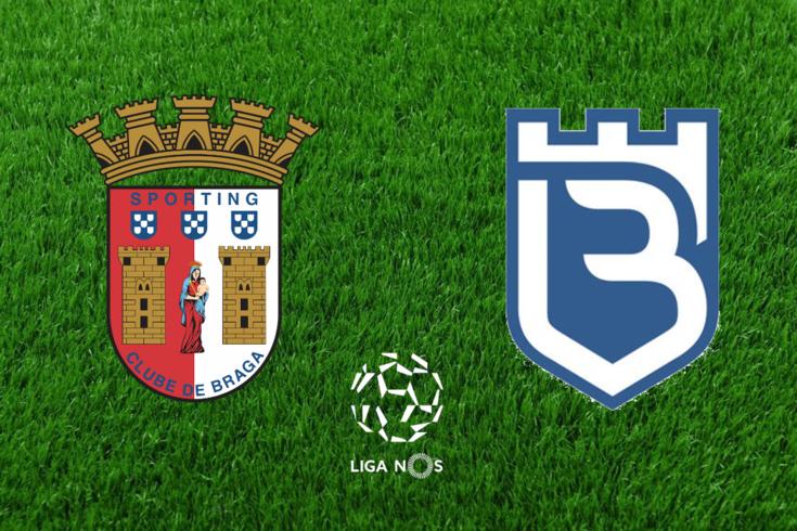 DIRETO | Braga-Belenenses