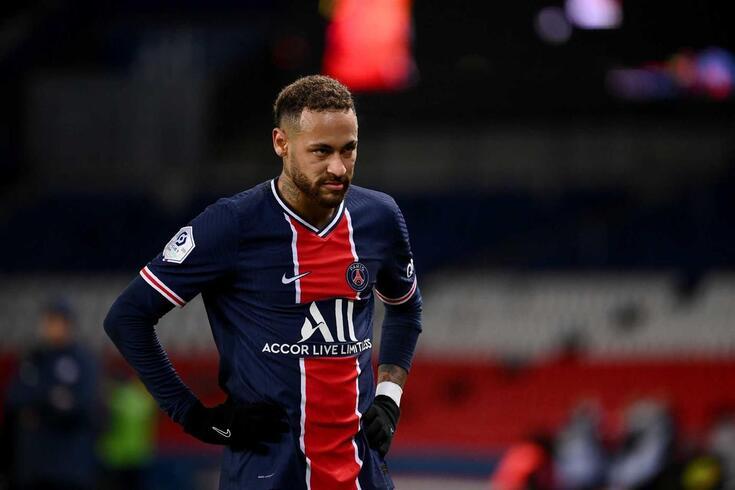 Neymar, astro brasileiro do PSG que torceu pelo... Santos