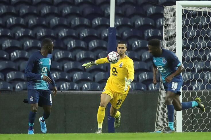 Diogo Costa mostrou segurança nas oportunidades que teve