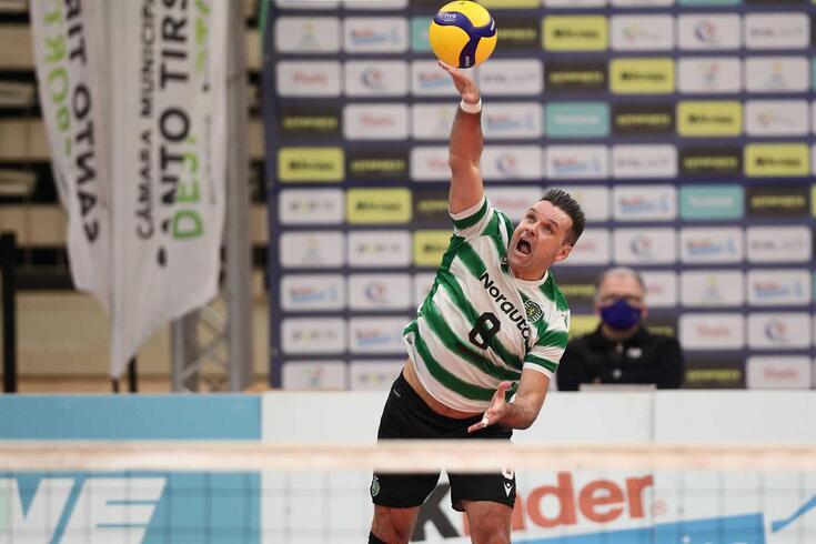 Miguel Maia, jogador de voleibol do Sporting