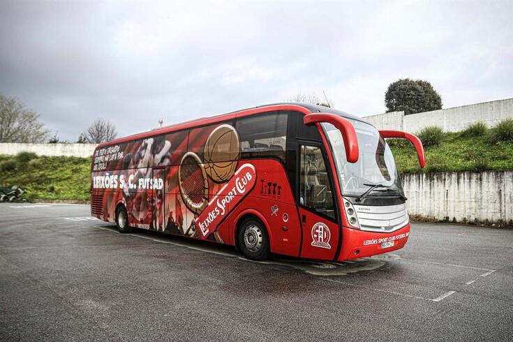 Autocarro do Leixões