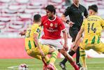 Gabriel prepara-se para voltar ao onze do Benfica