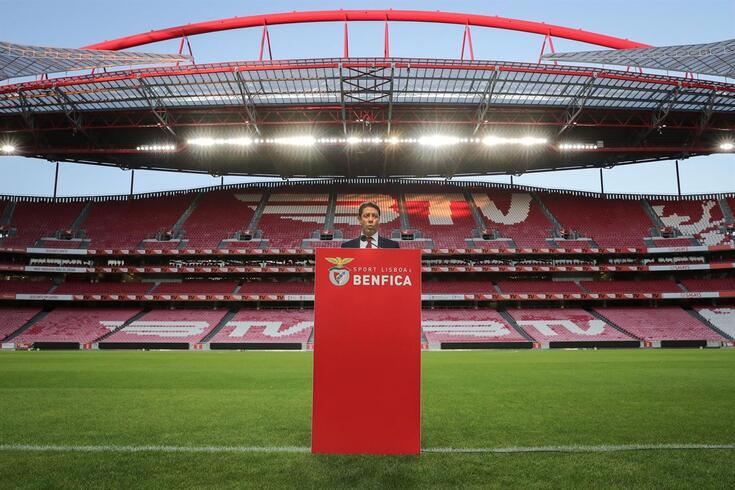 Rui Costa na primeira entrevista como presidente do Benfica